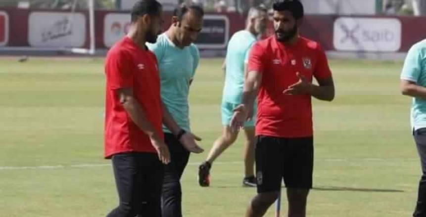 عبدالحفيظ يجتمع مع وليد سليمان وصالح جمعة بمران الأهلي