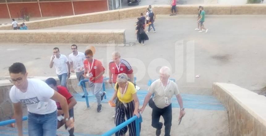 بسبب جمهور الأجانب.. قميص منتخب مصر يشهد نهائي كأس الأمم الأفريقية