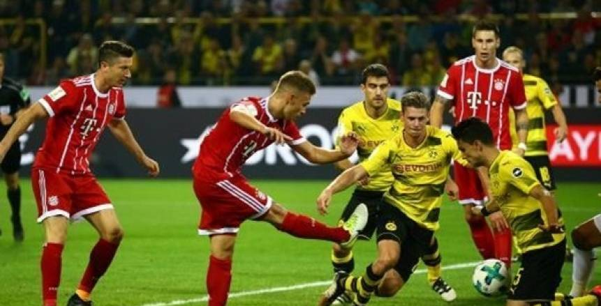 بث مباشر لمباراة بايرن ميونخ وبروسيا دورتموند في الدوري الألماني