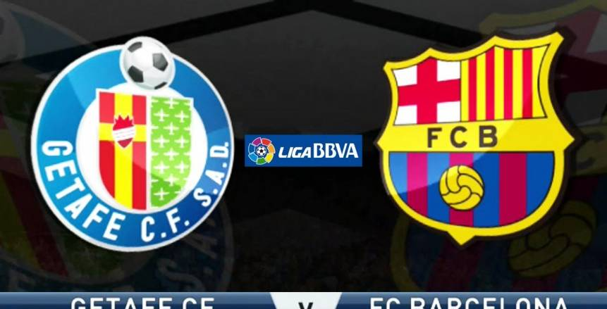 الدوري الإسباني| بث مباشر لمباراة برشلونة وخيتافي