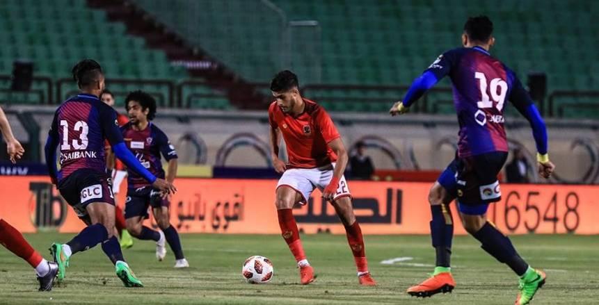 70 دقيقة| أيمن أشرف يهدر هدفًا مؤكدًا للأهلي أمام بتروجت