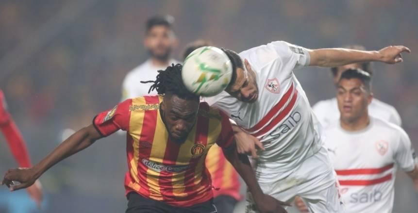 مباراة الزمالك والترجي في ربع نهائي دوري أبطال أفريقيا