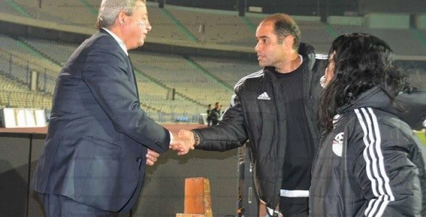 مران المنتخب المصري الخامس
