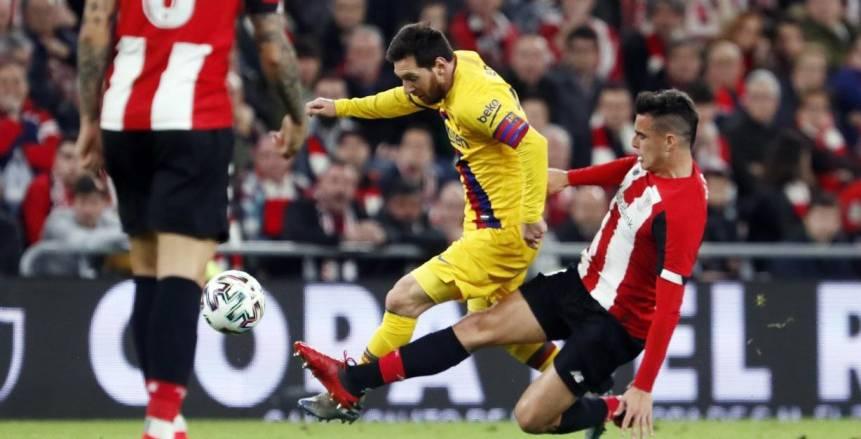القنوات الناقلة لمباراة برشلونة وأتلتيك بلباو اليوم في نهائي كأس ملك إسبانيا