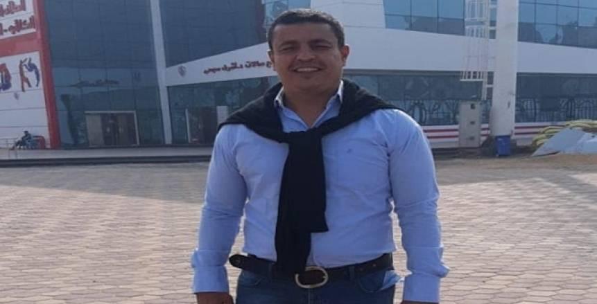 رضا دعبس مديرا لاستاد عبد اللطيف أبورجيلة بالزمالك «صور»