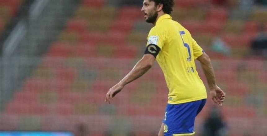 حسام غالى يشارك فى هزيمة النصر أمام الفيحاء
