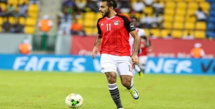 البدري يعلن استبعاد كهربا من معسكر منتخب مصر.. وأزمة في الظهير الأيمن