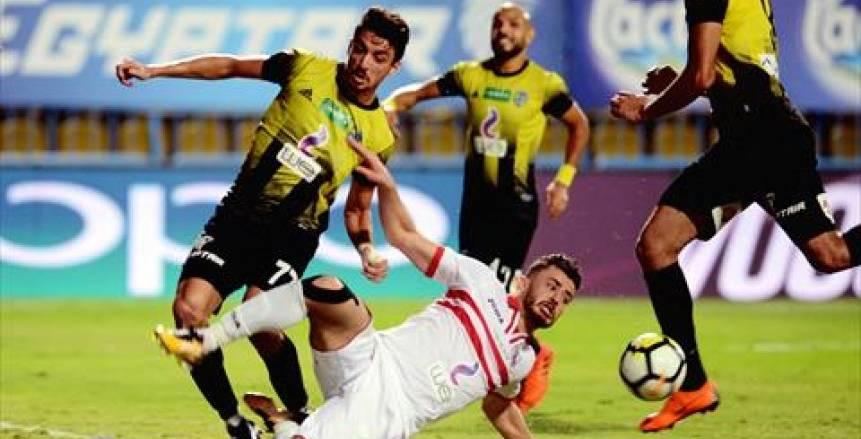 بث مباشر لمباراة الزمالك والمقاولون العرب في الدوري