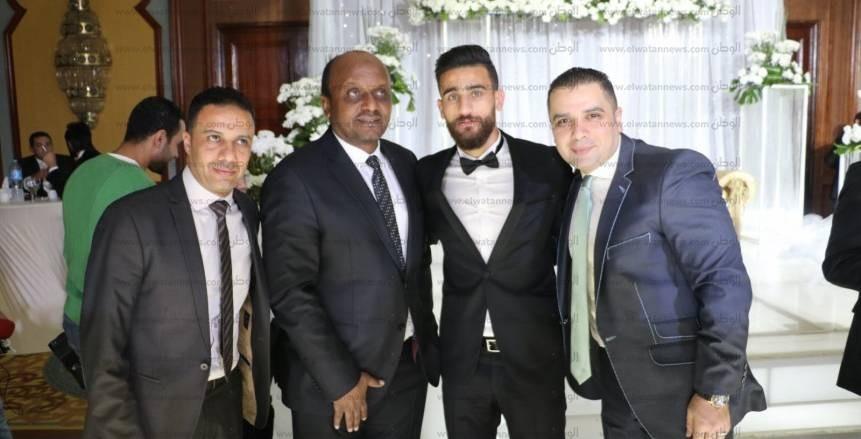 حفل زفاف باسم مرسي بحضور نجوم الرياضة