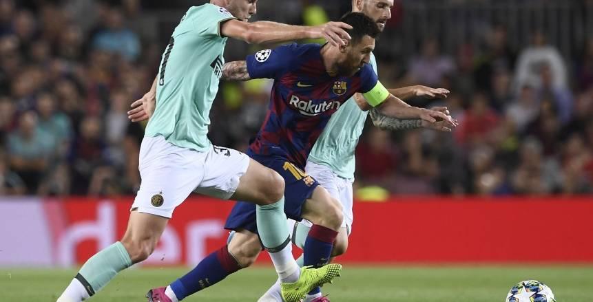 مباراة برشلونة وإنتر ميلان دوري أبطال أوروبا