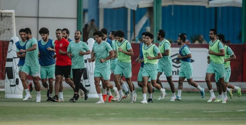 """تدريبات النادي الأهلي """"الثلاثاء"""" استعدادًا لمواجهة وادي دجلة في الدوري"""