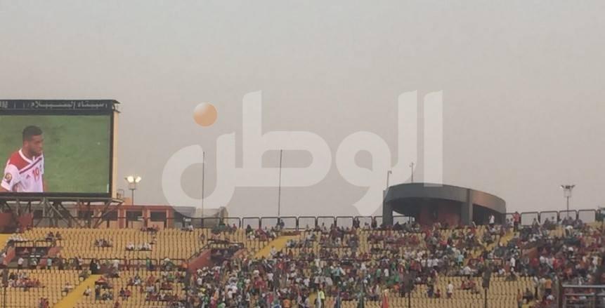 جماهير المغرب في مدرجات ملعب السلام