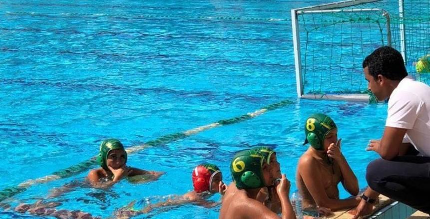 بالصور  هليوبوليس يخطف بطولة الجمهورية لكرة الماء من الجزيرة