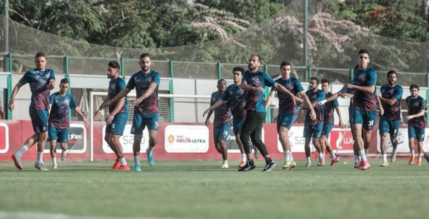 النادي الأهلي يواصل تدريباته استعدادا للترجي
