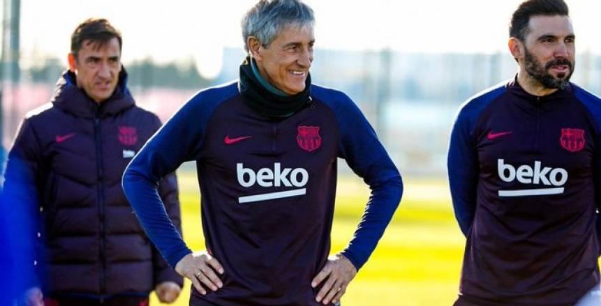 كيكي سيتين: وعدي الوحيد هو أن يلعب برشلونة جيدا