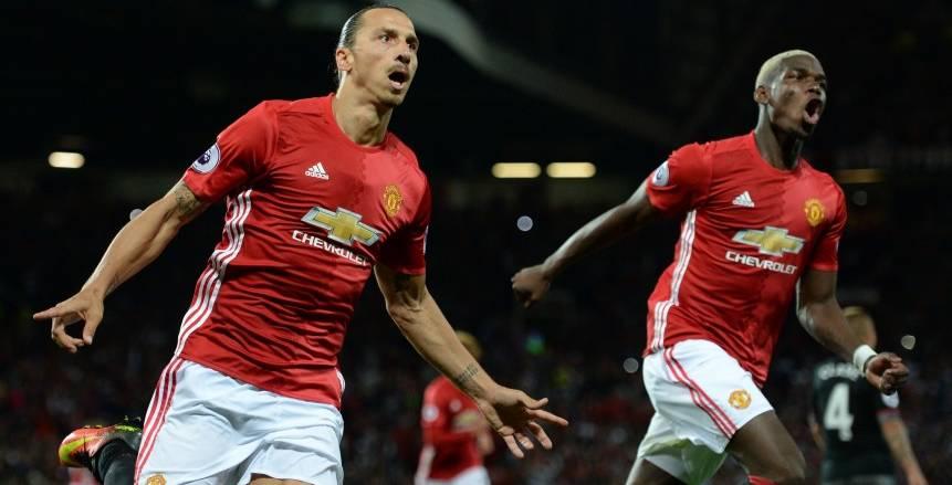 مانشستر يونايتد يفوز على ساوثهامتون في أول ظهور لبوجبا