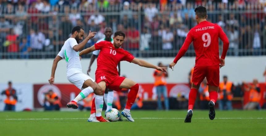 منتخب السعودية يتعادل أمام فلسطين سلبيًا في رام الله بتصفيات المونديال