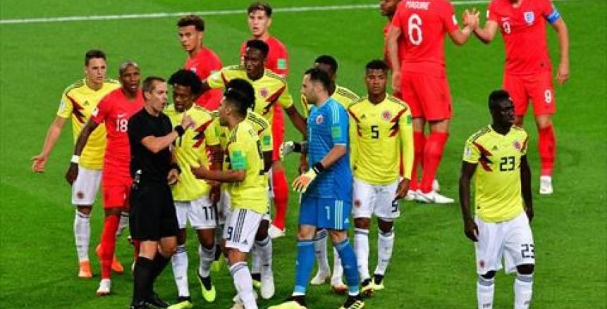 كولومبيا وإنجلترا