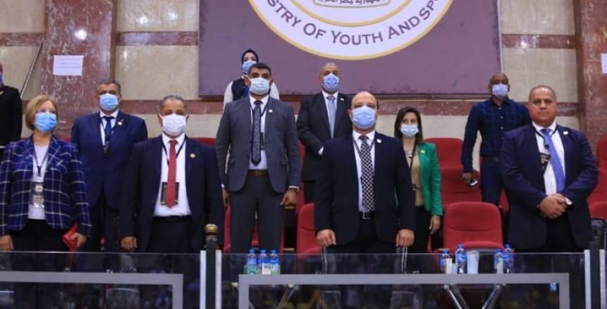 رئيس اتحاد الجمباز يفتتح بطولة «كأس الفراعنة» الدولية