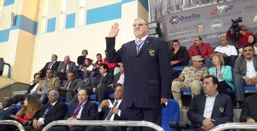 «الفولي» رئيسًا للَجنة ترشيح أعضاء اللجان بالاتحاد العالمي للتايكوندو
