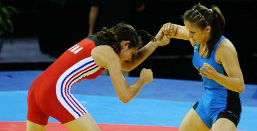 تأهل ضياء جودة وعمرو رضا وإيناس وسمر للأولمبياد بالمصارعة الرومانية