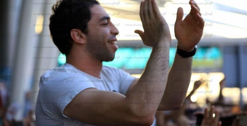 رسميا.. الزمالك يجدد عقد أحمد الأحمر
