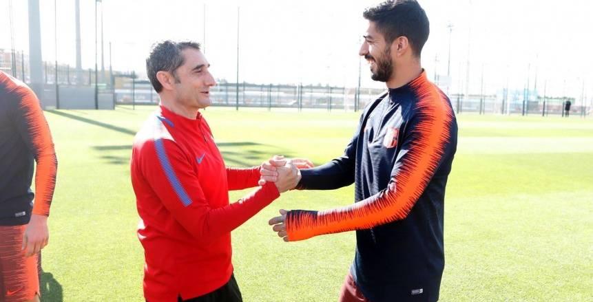 لويس سواريز يوجه رسالة لفالفيردي بعد إقالته من تدريب برشلونة