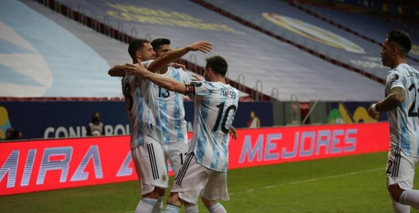المباراة الألفية للتانجو.. الأرجنتين تهزم أوروجواي بهدف في كوبا أمريكا