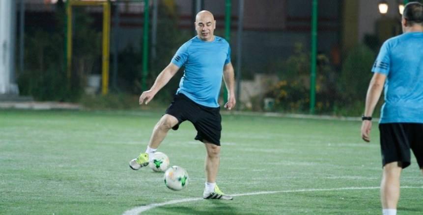 """حسام حسن: كافحت مع المصري في الكونفدرالية.. واللعب أمام الأهلي في السوبر """"إنجاز كبير"""""""