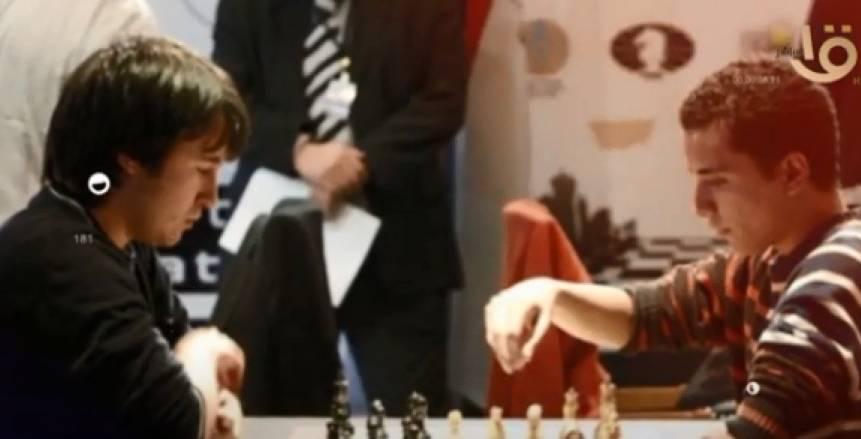 بطل مصر في الشطرنج: أقوم بتدريب نفسي وأسعى لحصد لقب العالم