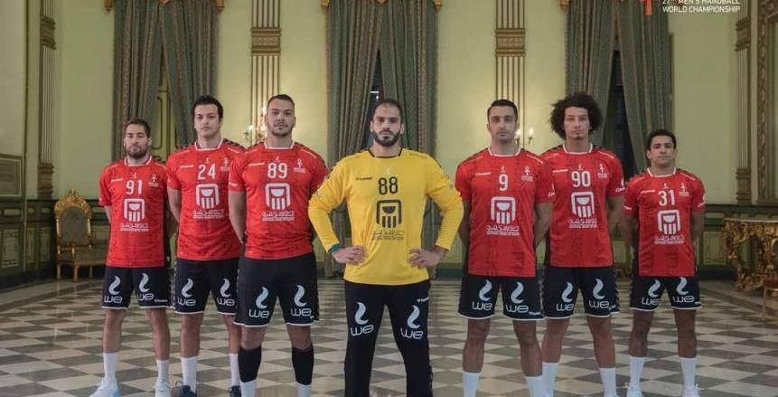 منتخب مصر يتقدم على تشيلي 18/11 في الشوط الأول بمونديال اليد