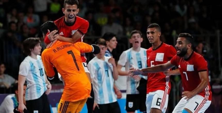 اتحاد الكرة: مكافآت خاصة لمنتخب «الصالات» عقب برونزية الأرجنتين