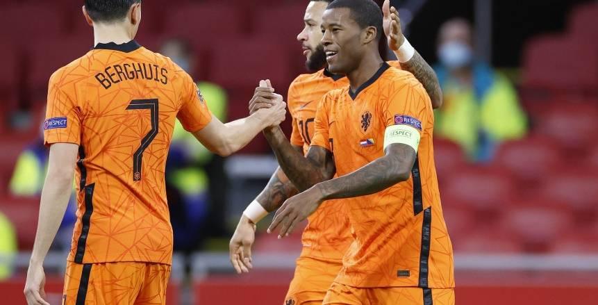فينالدوم يتجاوز فان باستن مع هولندا.. وإنجاز للنمسا في يورو 2020