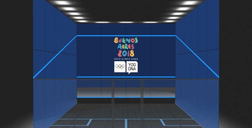 ضم الاسكواش رسمياً بمنافسات أولمبياد الشباب للمرة الأولى