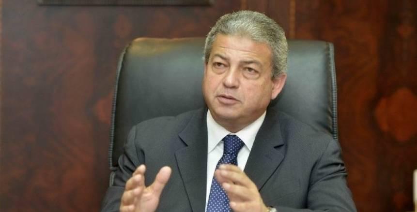 وزير الرياضة يستقبل رئيس اتحاد البلياردو