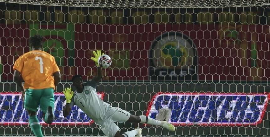 ركلة جزاء وهدف مثير للجدل.. اعتراضات من نيجيريا الأولمبي ضد معروف ( فيديو )