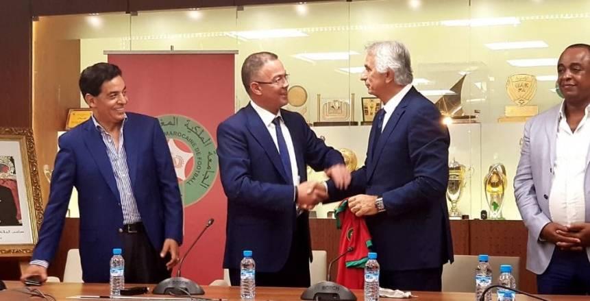 بسبب تواضع النتائج.. خليلوزيتش يطلب إحداث تغييرات بالجهاز الفني لمنتخب المغرب