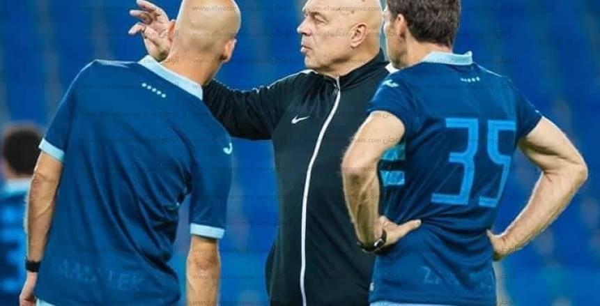 جروس يطالب لاعبي الزمالك بالجدية قبل مواجهة طنجة في المغرب