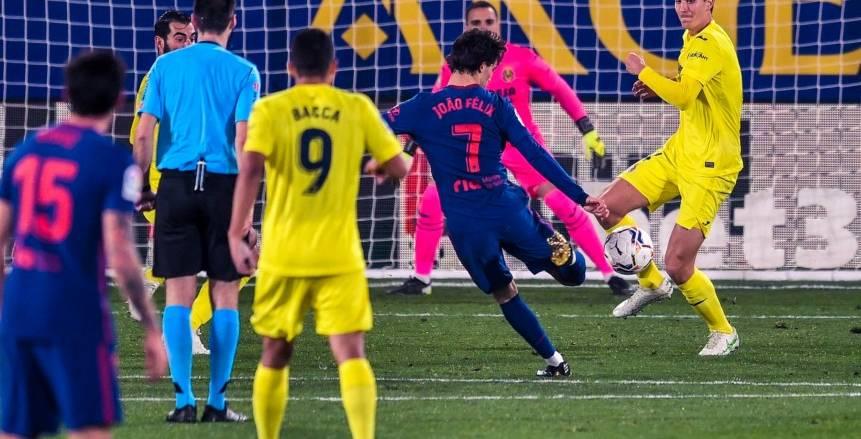 أتلتيكو مدريد يغرق مركب فياريال.. وسيميوني يعادل رقم أراجوانيس