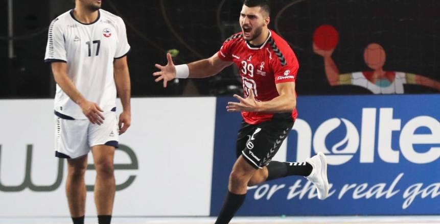 يحيى الدرع رجل مباراة مصر وتشيلي بافتتاح بطولة العالم لكرة اليد «صور»