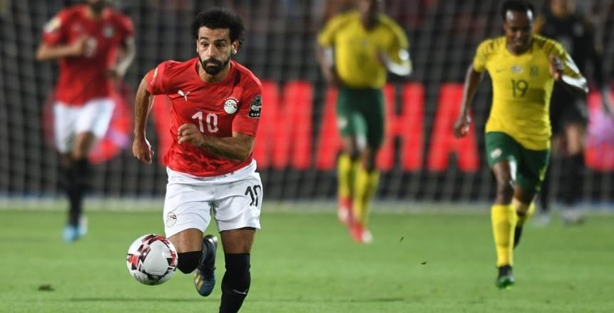 للمرة الأولى في أمم أفريقيا 2019.. منتخب مصر يفشل في هز شباك منافسه في الشوط الأول