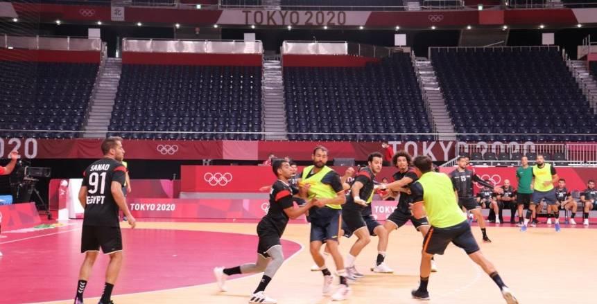 منتخب اليد يأمل في تحقيق أول فوز بأولمبياد طوكيو أمام البرتغال