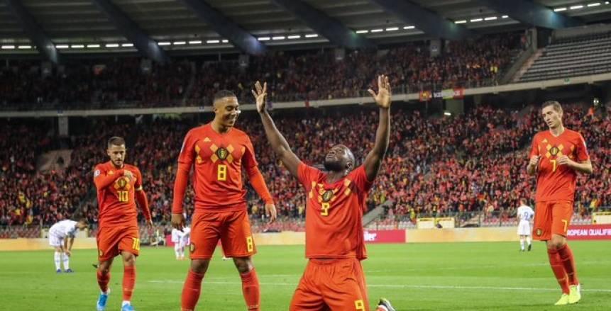 بالفيديو.. بلجيكا أول منتخب يتأهل ليورو 2020 بعد اكتساح سان مارينو بالتسعة