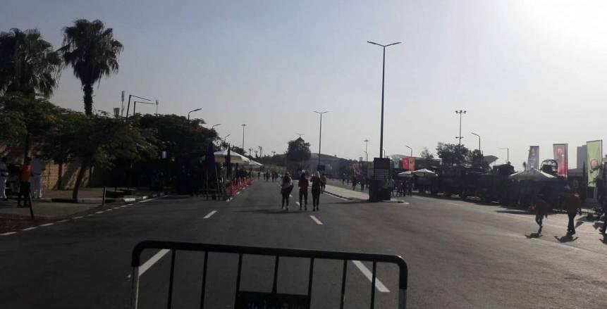 سهولة تامة في حركة دخول الجماهير لاستاد القاهرة الدولي