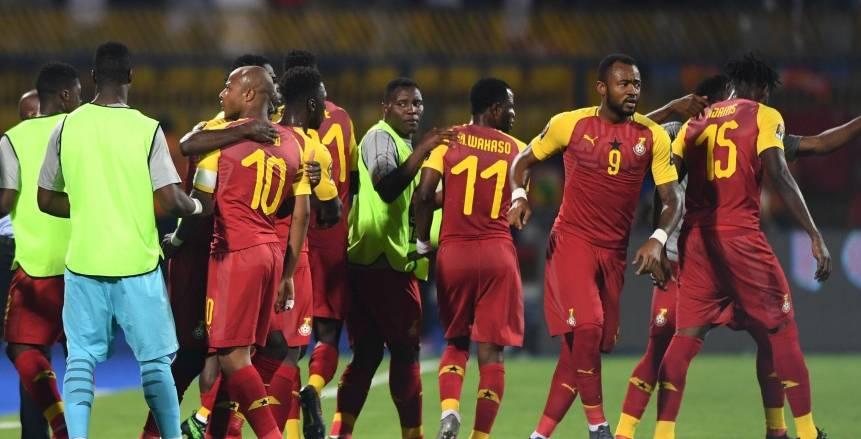 بالفيديو| المنتخب الغاني ينهي الشوط الأول متقدمًا على بنين بهدفين