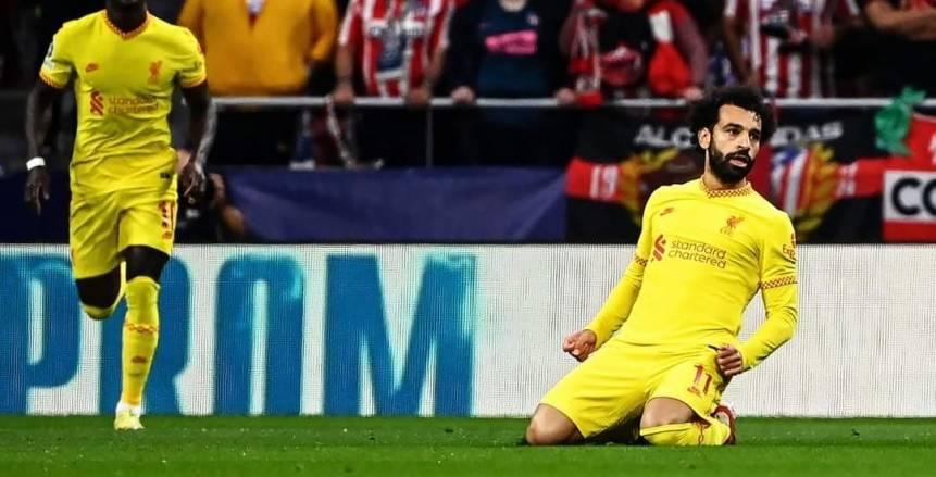 الحساب الرسمي لـ ليفربول يشيد بمحمد صلاح بعد تألقه أمام أتلتيكو مدريد