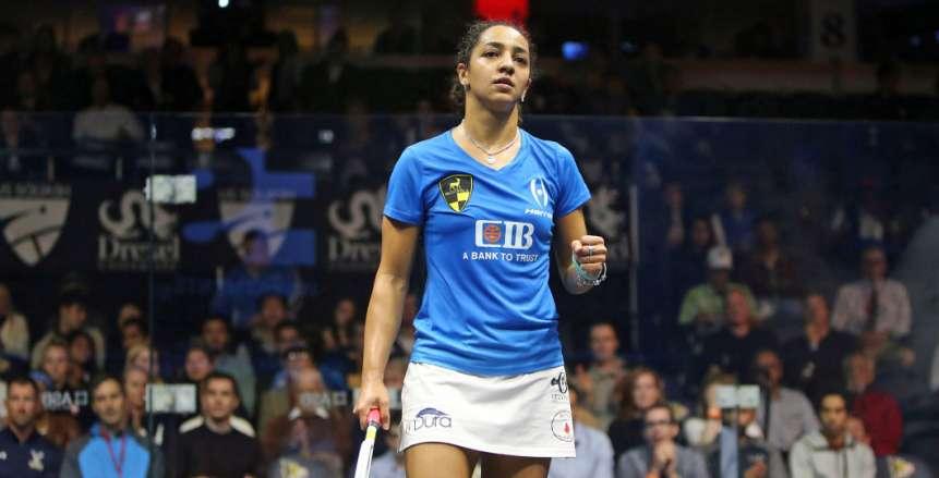 رنيم الوليلي ونوران جوهر تتأهلان لدور الـ8 في بطولة مصر الدولية للإسكواش