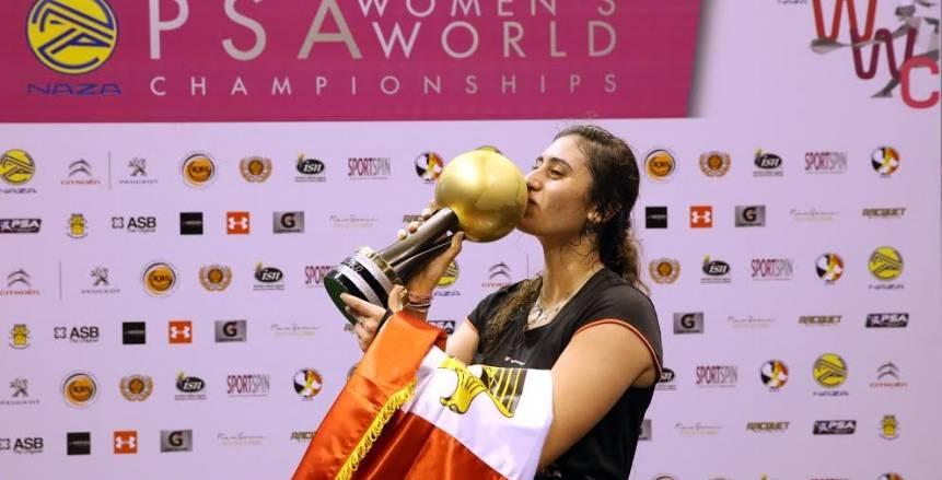 نور الشربيني تدعم بطولة العالم لشباب الطائرة المقرر إقامتها بمصر