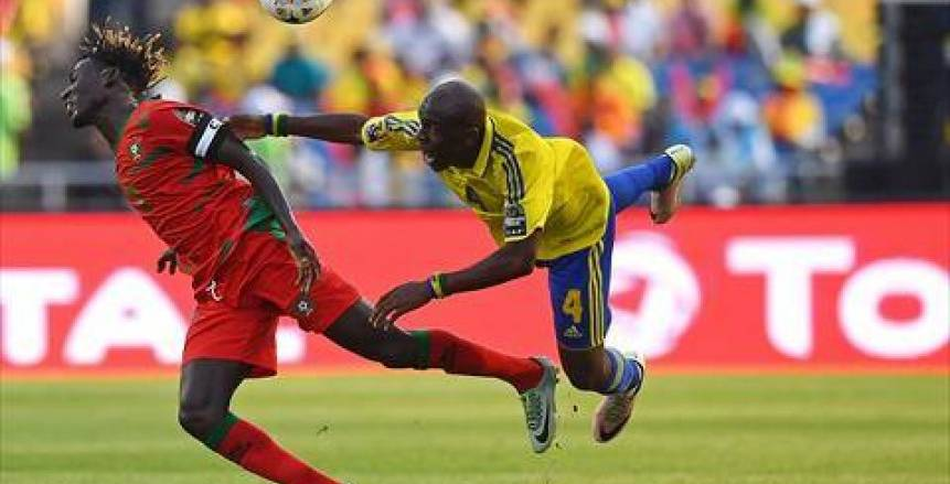 مباراة افتتاح أمم افريقيا الجابون و غينيا بيساو