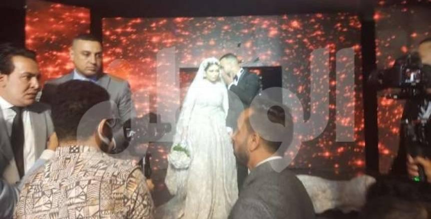 محمد مجدي أفشة يحتفل بزفافه بحضور نجوم الكرة والفن